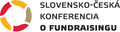Logo Slovensko-česká konferencia o fundraisingu online
